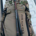 Exo Mountain Gear 3500, S&S Archery CL Trekking Poles
