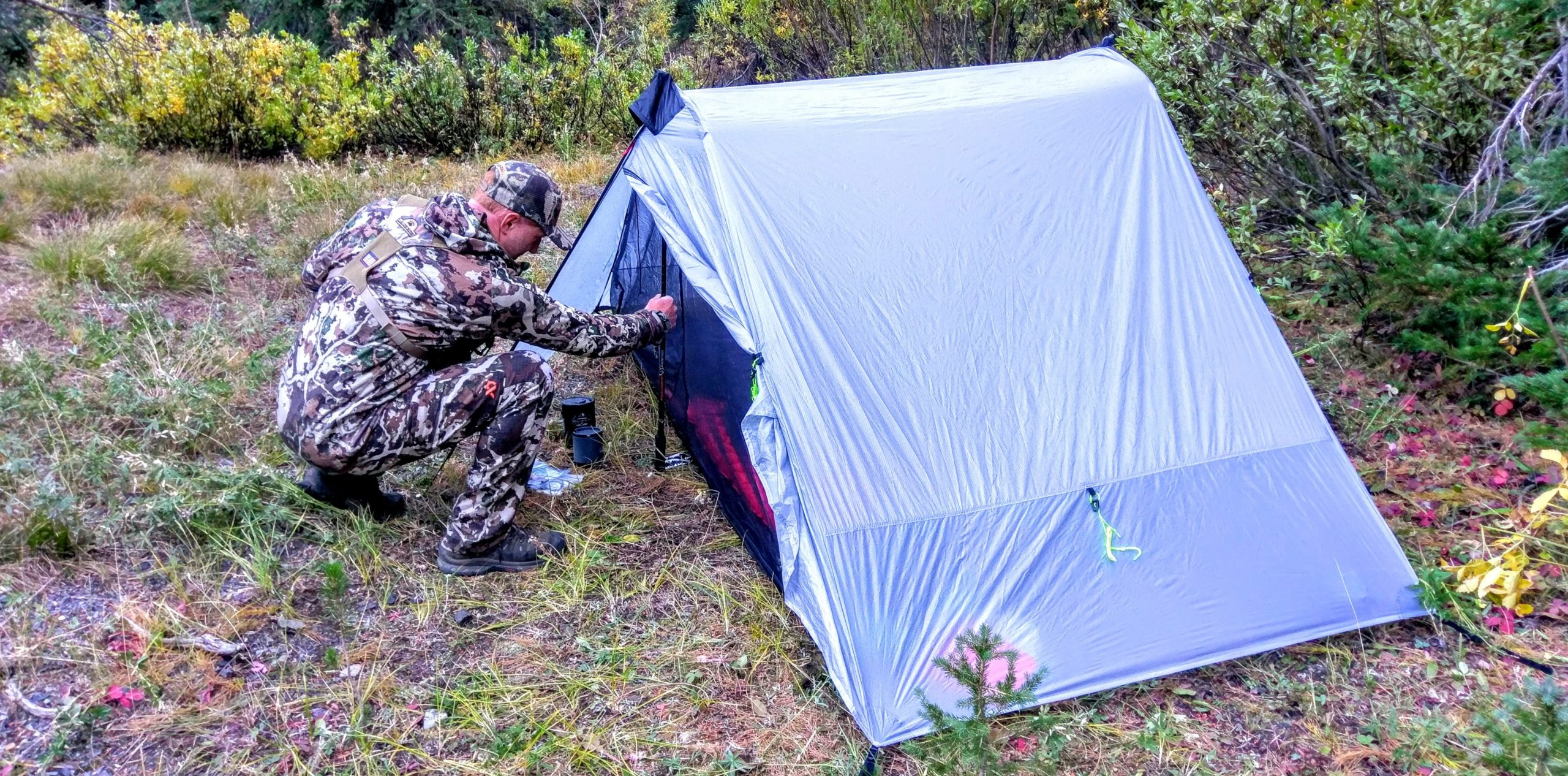 Six Moon Desings Lunar Duo - Best backpacking tent for hunting