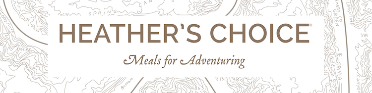 Heather's Choice. Best backpacking food.  Heather Choice backpacking food