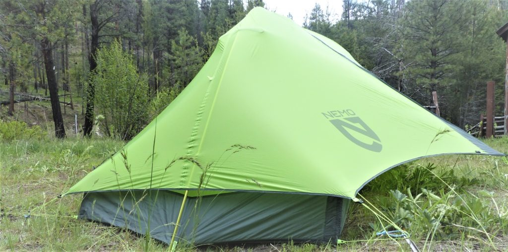 Best backpacking tents for hunting - Nemo Hornet 2p