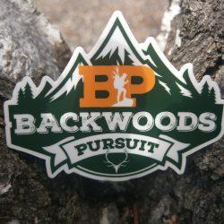 Backwoods Pursuit Die Cut Sticker