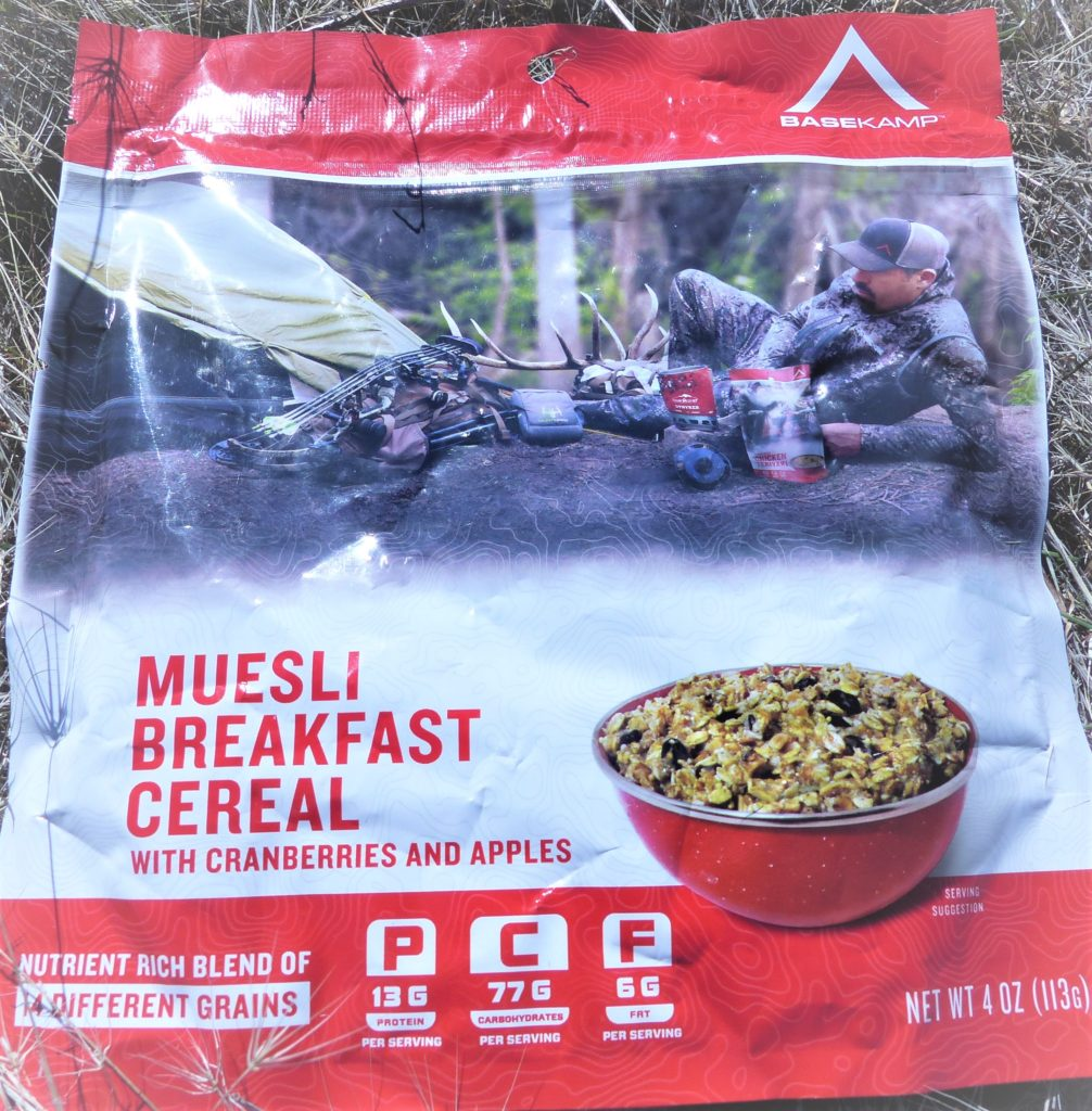 BaseKamp Muesli Breakfast