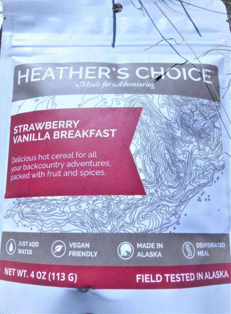 Heather's Choice Strawberry Vanilla Breakfast