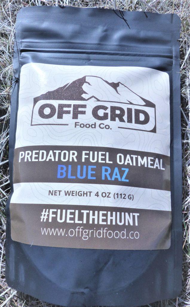 Off Grid Predator Fuel Oatmeal Blue Raz