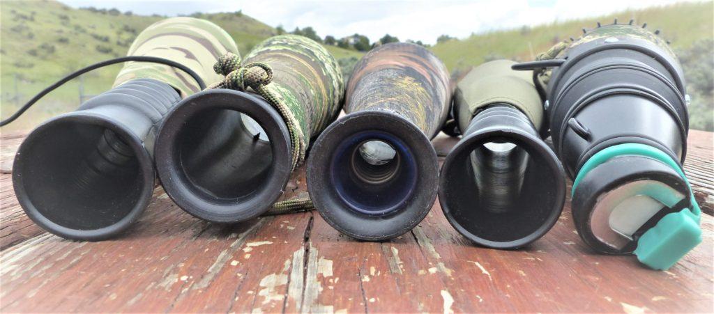 Elk Bugle tube mouth piece sizes