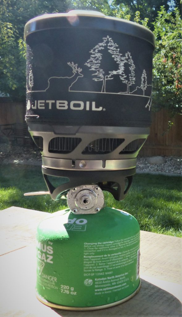 Jetboil Minimo - best backpacking stove