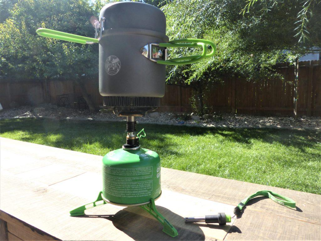 Optimus Crux backpacking stove
