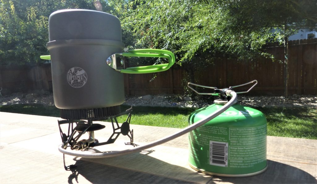 Optimus Vega backpacking stove