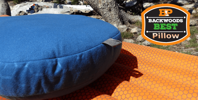 Exped Down Pillow - Best backpacking pillow for side sleepers