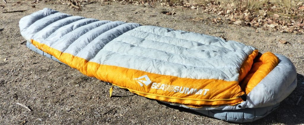 Sea to Summit Spark Sleeping Bag - Best ultralight sleeping bag