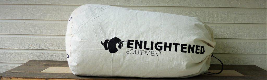 Enlightened Equipment Enigma quilt