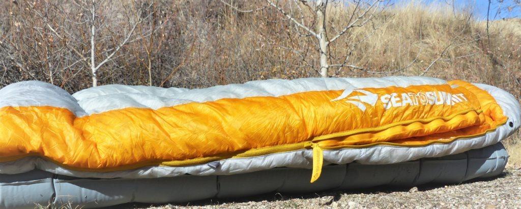 Sea to Summit Spark Ultralight sleeping bag