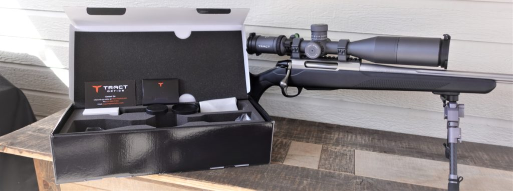 Tract Toric 4-20x50 Rifle Scope
