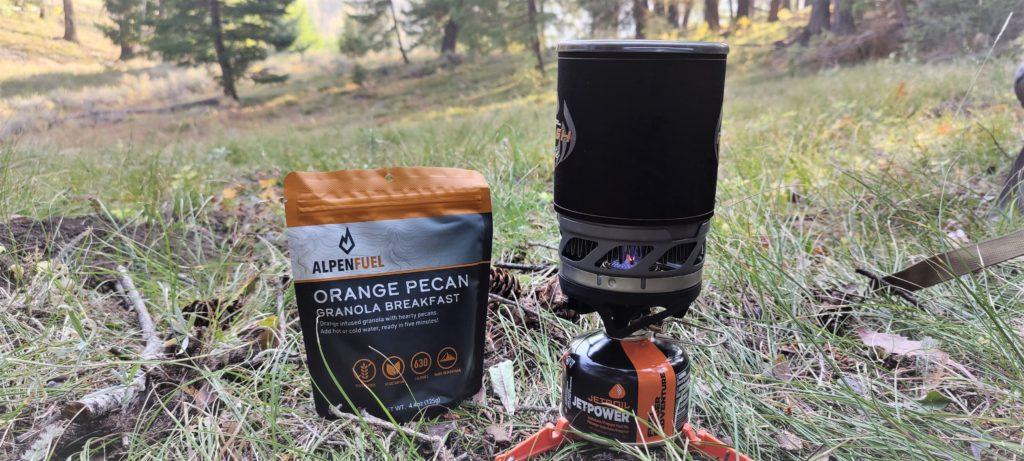 Orange Pecan Alpen Fuel Granola Reviews